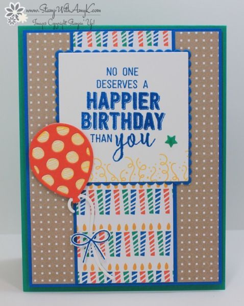 I used the Stampin' Up! Balloon Adventurestamp setfrom the upcoming 2017 Occasions Catalog for the Sunday Stamps sketchchallenge this week. Here is the sketchfor Sunday Stamps SSC140. Be sure …