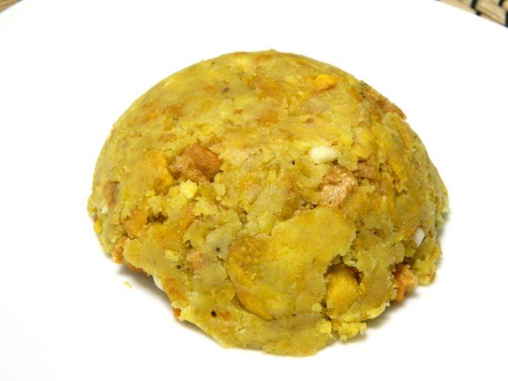 Mofongo - Plantain Balls (Puerto Rico)