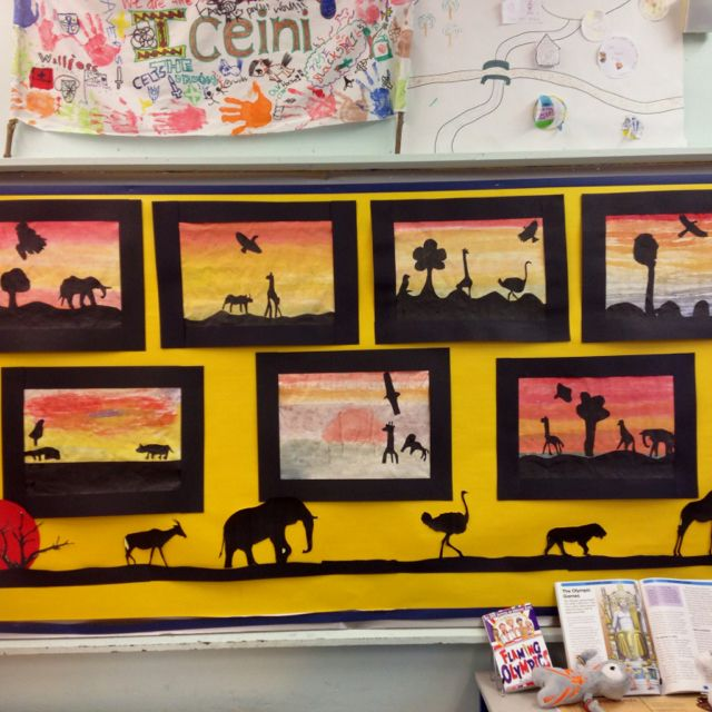 Art/science work from our South Africa topic.