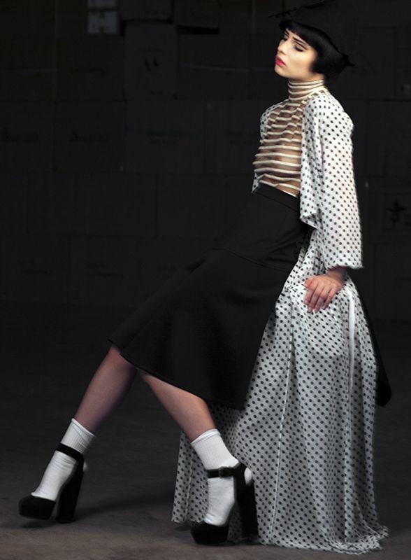 Photo:Dimitra Spiropoulou Styling:Yiorgos Mesimeris  M/H:Christina Agatha  Model:Lina(Acemodels)