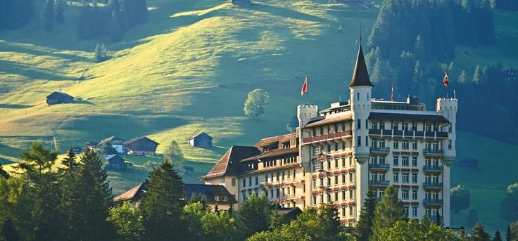 Gstaad Palace | five-star (5-star) luxury hotel | Bernese Oberland | Switzerland : Gstaad Palace