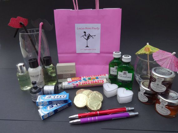 Hey, I found this really awesome Hen Party Bags on Etsy listing at https://www.etsy.com/listing/199306998/5-classy-luxury-hen-do-party-gift-party