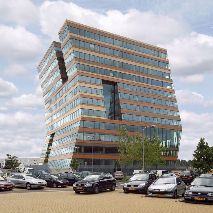 Menzis Office Building in Groningen, The Netherlands by Branimir Medic & Pero Puljiz, de Architekten Cie