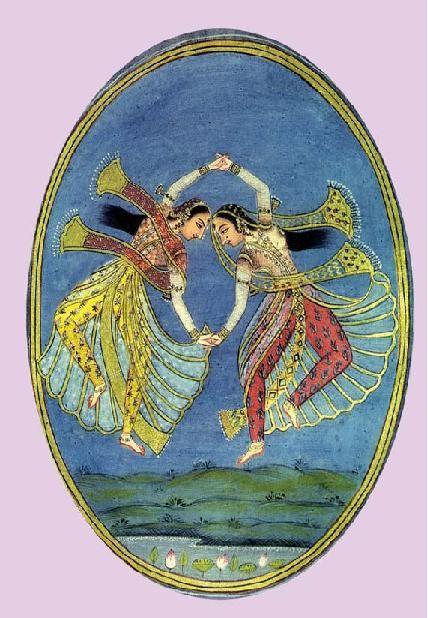 Kathak dancers