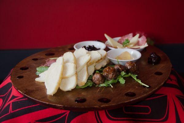 Vancouver's Salmon n'Bannock Bistro Game Sampler! Canada's Aboriginal food trends.