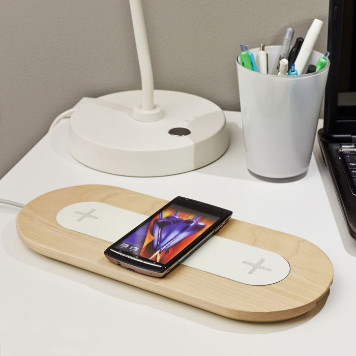 (DIY) Office | Wireless plate for charging  NORDMÄRKE from IKEA