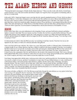 best manifest destiny american expansion images remember the the alamo this common core aligned reading project has students read