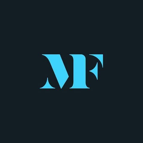 MF by Stephen Rockwood @srockwood - LEARN LOGO DESIGN  @learnlogodesign @learnlogodesign - Want to be featured next? Follow us and tag #logoinspirations in your post