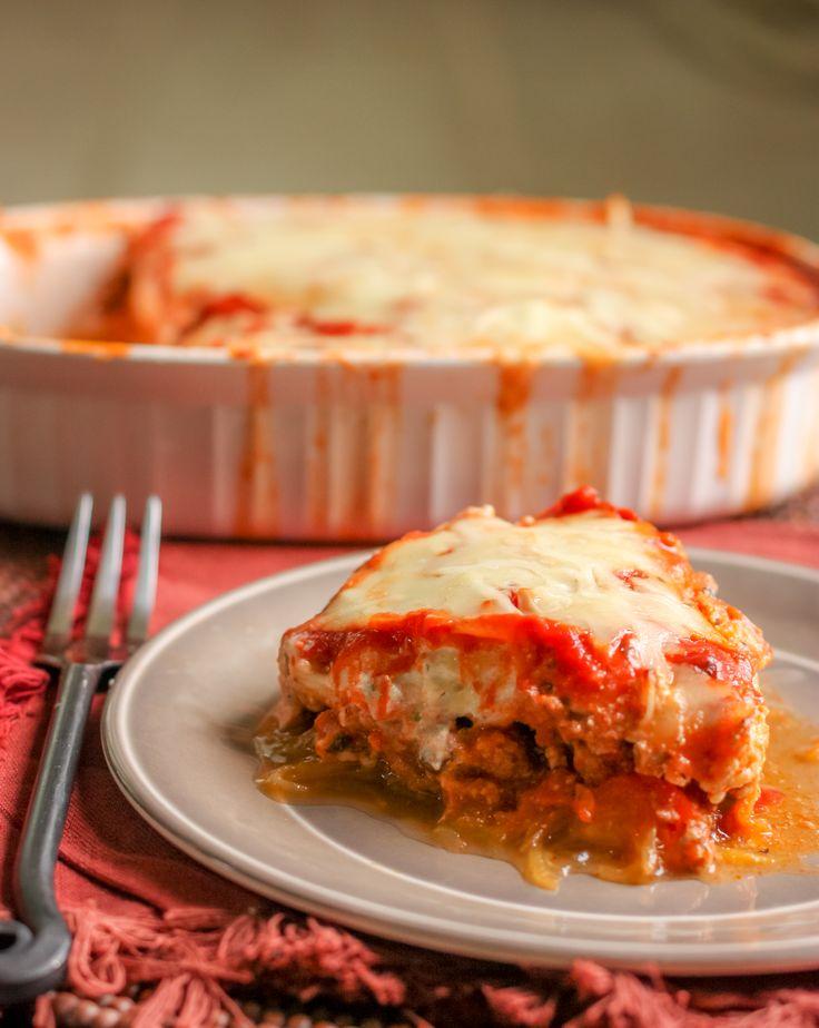 Simple Spaghetti Squash Lasagna