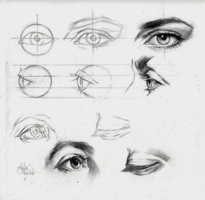 Tes, Galleries And Drawing Eyes