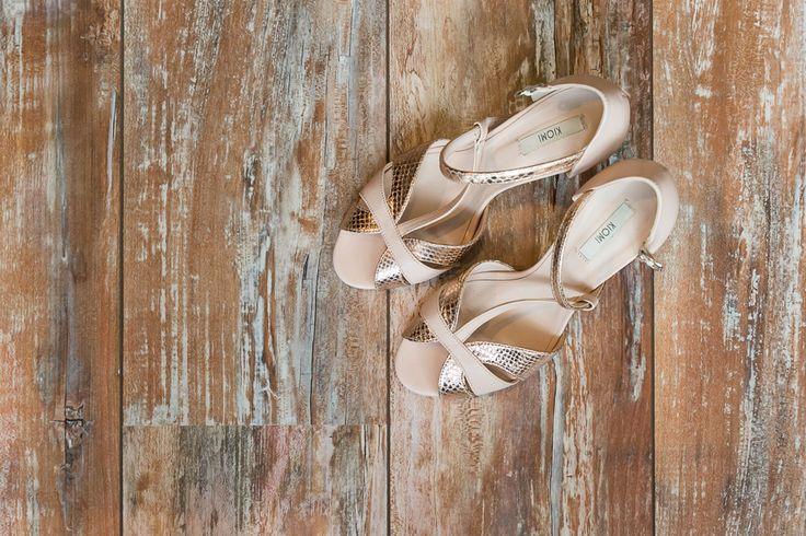 Kiomi schoenen bruid