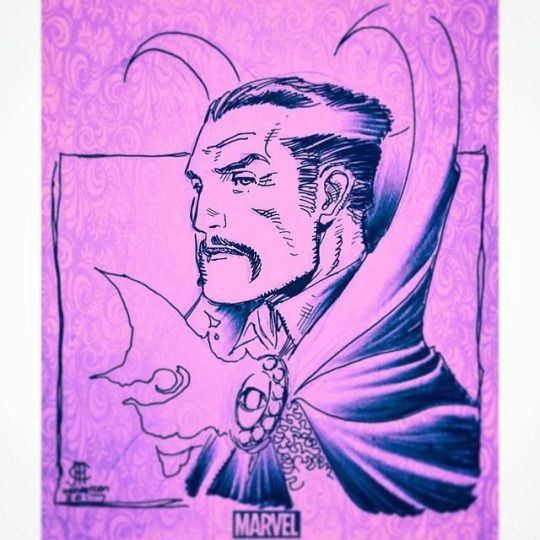 Jim Cheung: Dr. Strange