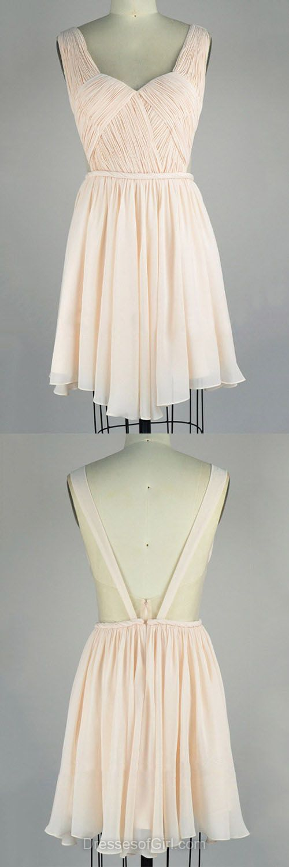 2017 homecoming dresses,short homecoming dresses,chiffon homecoming dresses,modest v-neck homecoming dresses