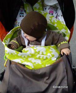 Vognteppe, blanket for stroller
