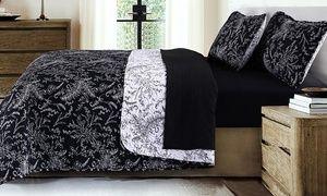 LivingSocial - Southshore Fine Linens Winter Brush Reversible Quilt Set (2- or 3-Piece). LivingSocial deal price: $24.99
