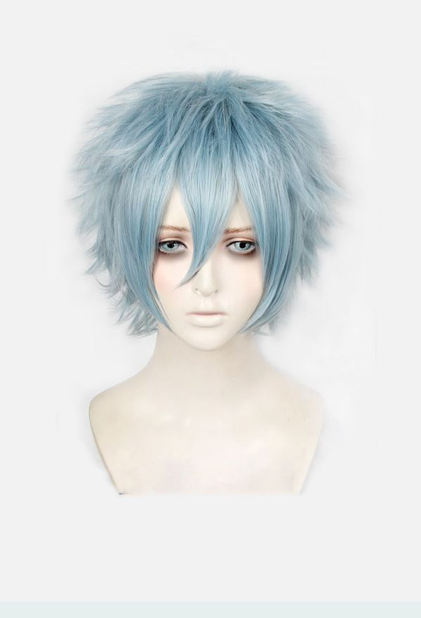 Shigaraki Tomura Boku no My Hero Academia Cosplay Hair Wig Cap TV Ver.