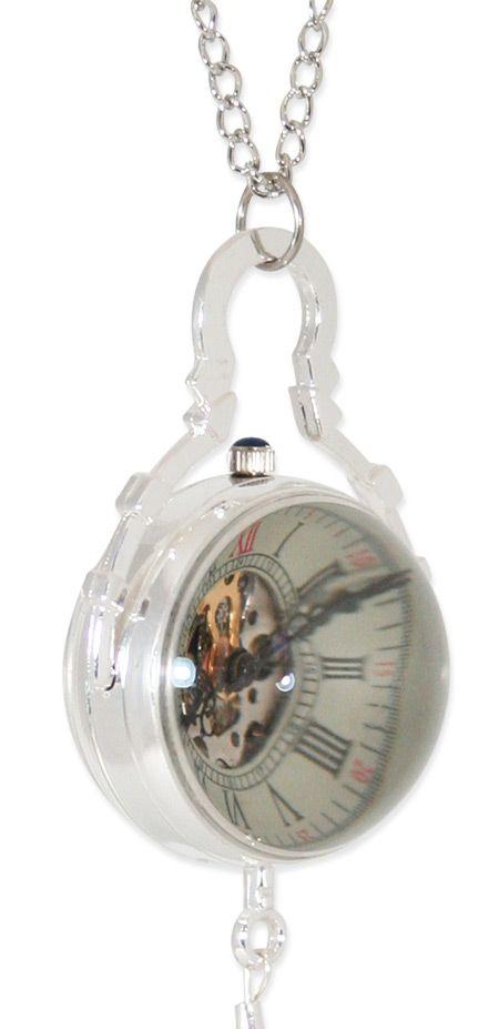 Mechanical Globe Watch - Silver (Unisex); Ladies Emporium