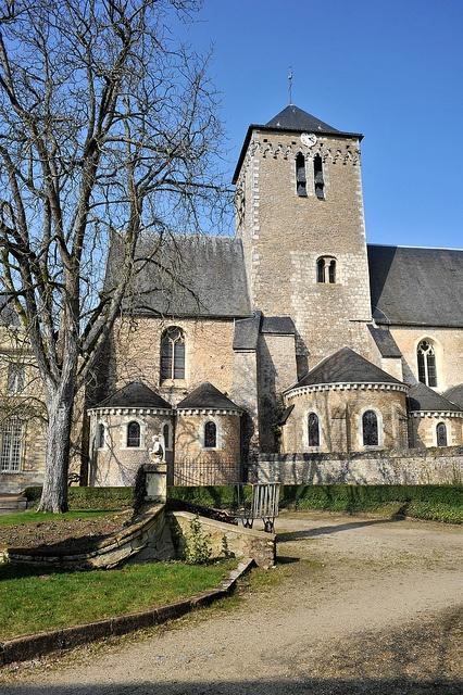 Eglise abbatiale de Solesmes - Sarthe