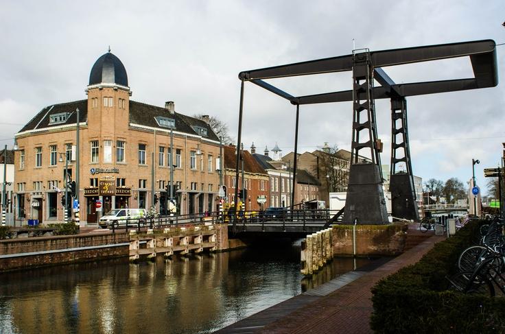 Helmond, the Netherlands. De Veestraatbrug.
