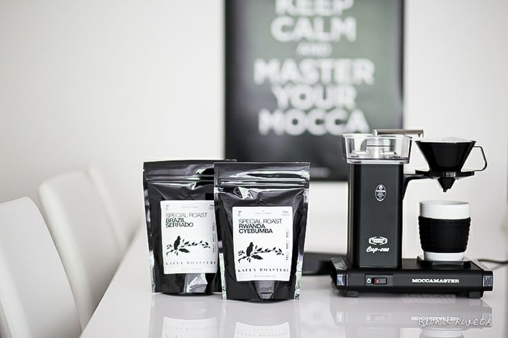 KEEP CALM AND MASTER YOUR MOCCA Cup-one Matt Black and Kaffa Roastery