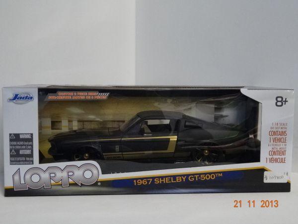 Carro colección Shelby GT 500 1967 color Negro. #RegalosParaEllos #RegalosNavidad2013