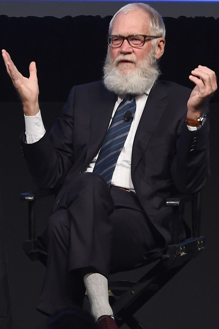 Comedian and former talk show host David Letterman speaks onstage during The New Yorker Festival 2016 - Letterman Talks With Susan Morrison. Letterman's Advice to Aspiring Male Late-Night Hosts: 'I Would Be Happy to Watch a Woman' | Vulture