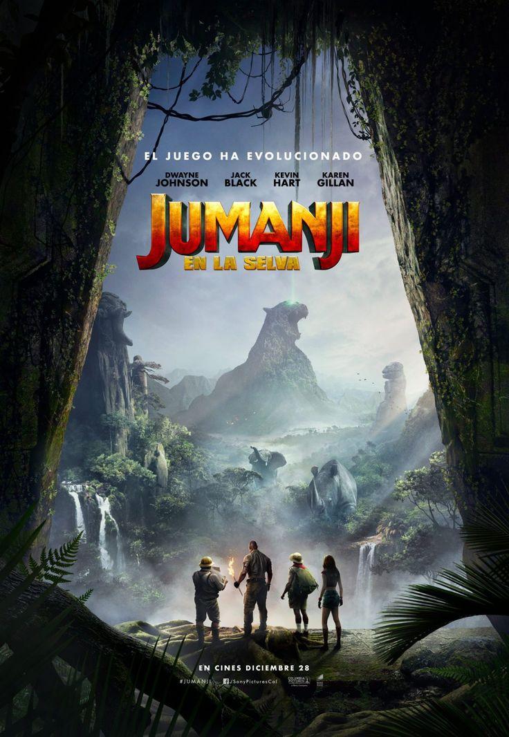 Jumanji - new movie poster -> https://teaser-trailer.com/movie/jumanji/  #Jumanji #jumanjiWelcometothejungle #MoviePoster