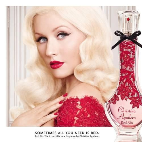 Red Sin Christina Aguilera for women
