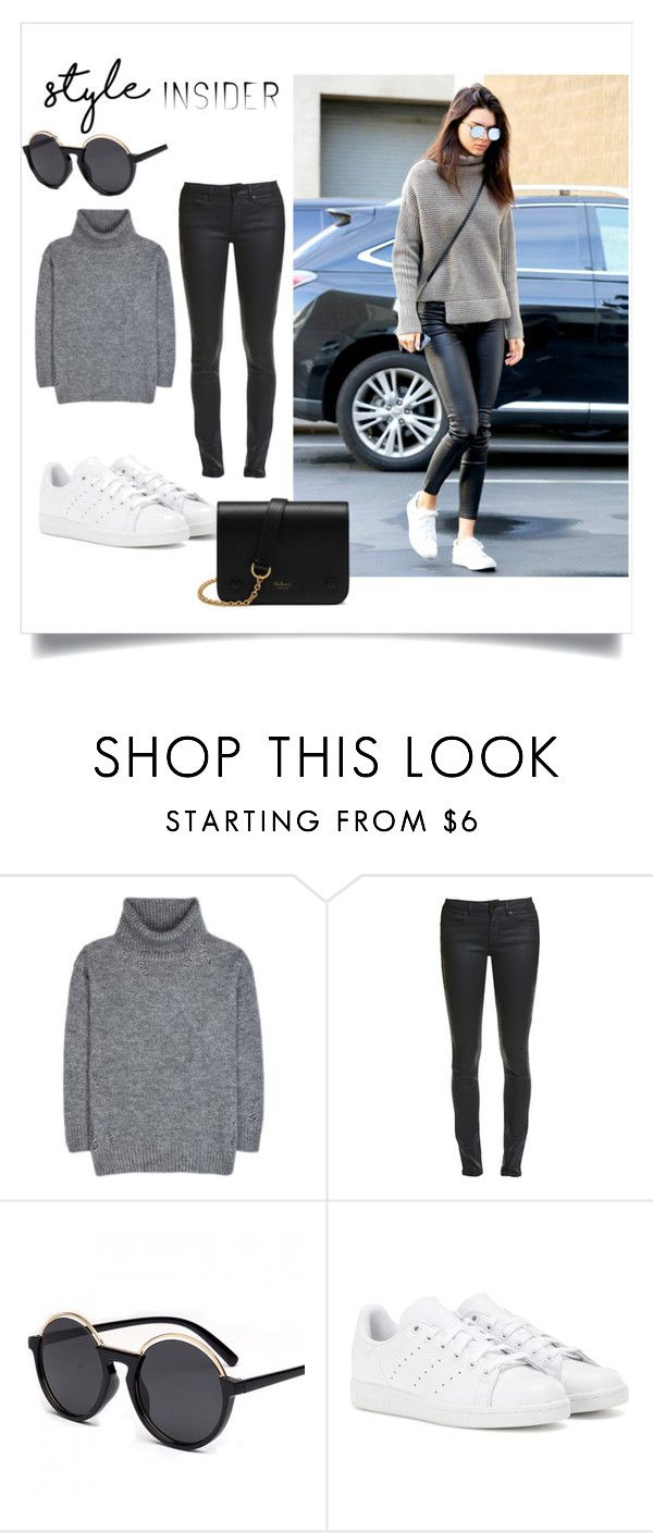 """""""Untitled #6"""" by zahrohusna on Polyvore featuring Yves Saint Laurent, adidas and Mulberry"""