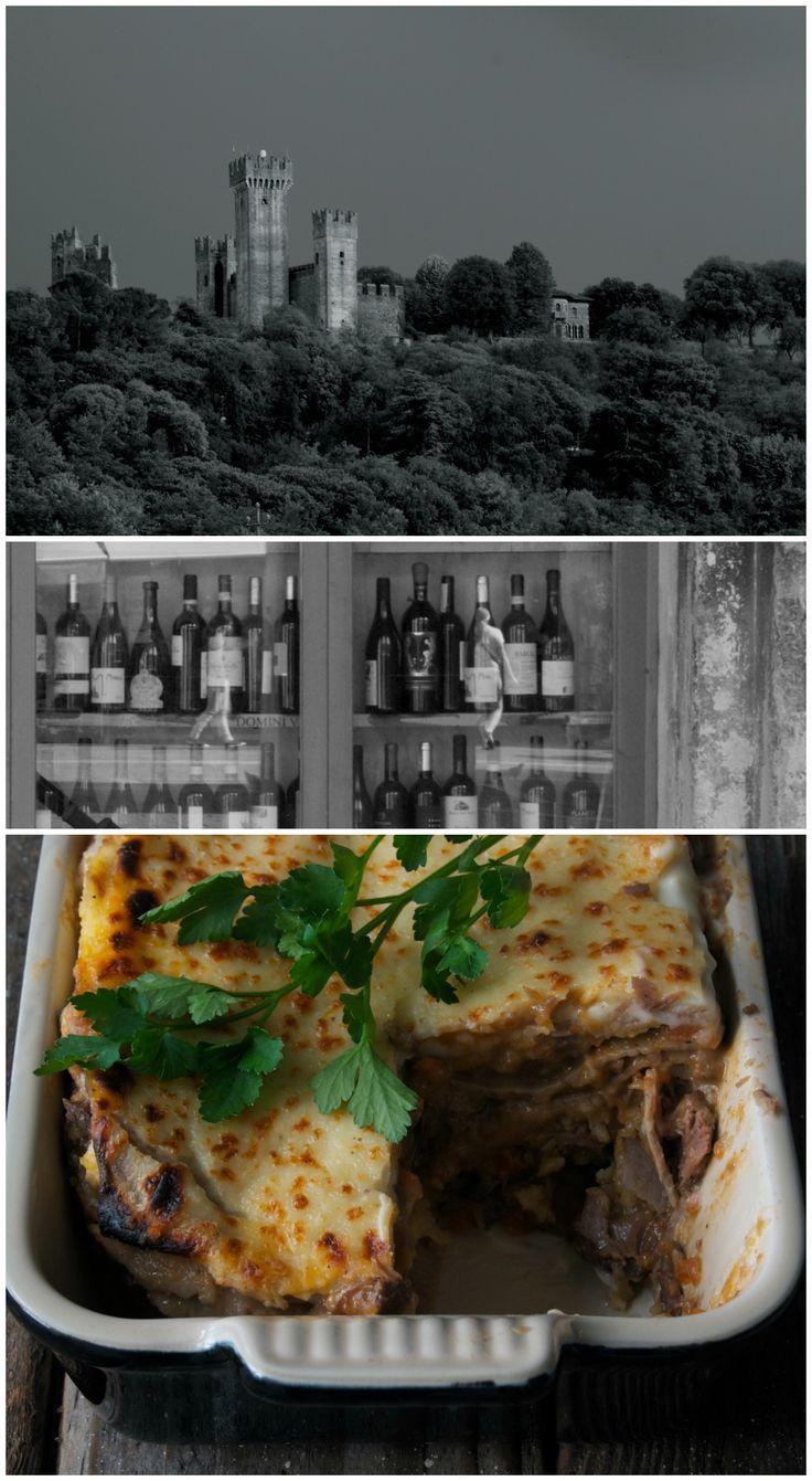 Lasagne hertenvlees ragu en kastanjes