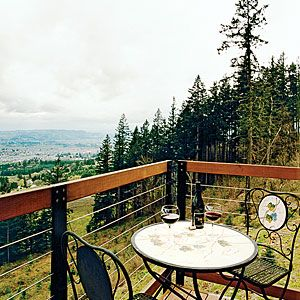 Top 15 secret wine country escapes | Newberg / Dundee, OR |   French-leaning Pinot Noirs regin supreme here, but you can also discover new-wave Chardonnay and exhibits by local artists. Don't miss tastings at Anam Cara, Colene Clemens, Longplay wineries. Another must? Kayaking on the Willamette River in June. For the ultimate wine country sleep, check in at Le Puy, A Wine Valley Inn, which breaks the mold of Victorian B frill with feng shui balance.  Sunset.com