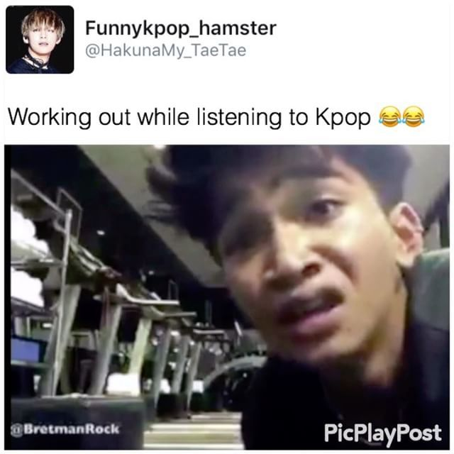 "8,305 Likes, 152 Comments - {🖤} Online {} Sleeping (@funnykpop_hamster) on Instagram: ""@bretmanrock is seriously my spirit animal 😅 Song list :  VIXX - Dynamite  Got7-Hard Carry Exo -…"""