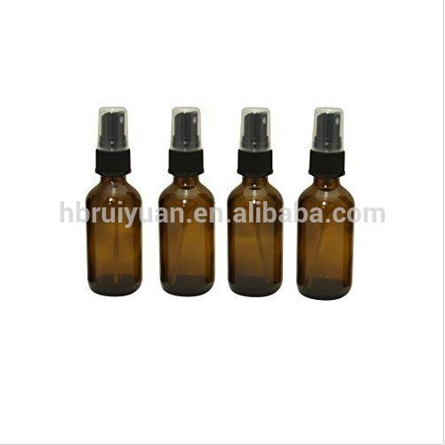free sample essential oils 2 oz amber glass bottles with pump sprayer find complete details