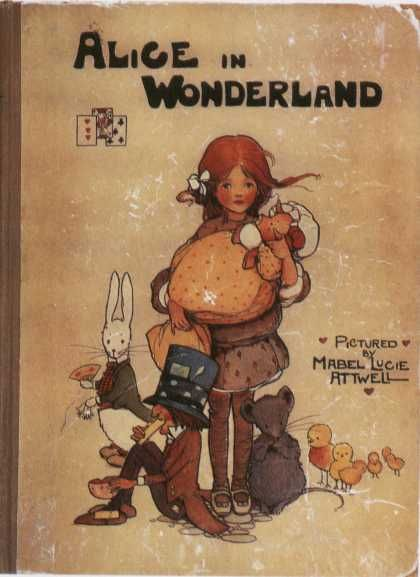 Alice in Wonderland (1865). 1910 edition