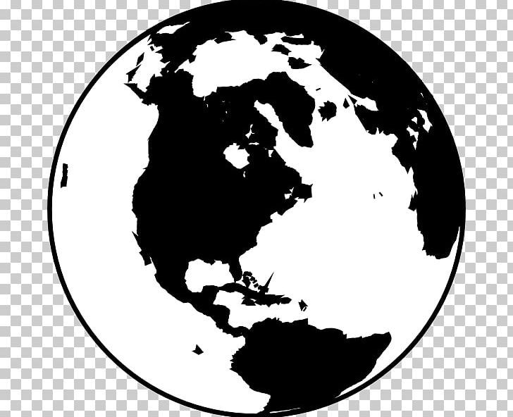 25+ Earth Clipart Black And White