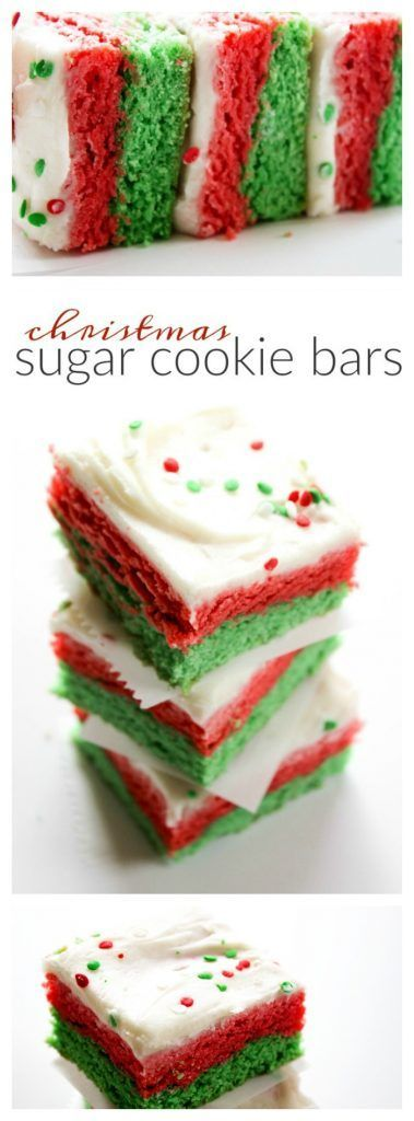 Christmas Sugar Cookie Bars - A Dash of Sanity #BestOfBaking AD