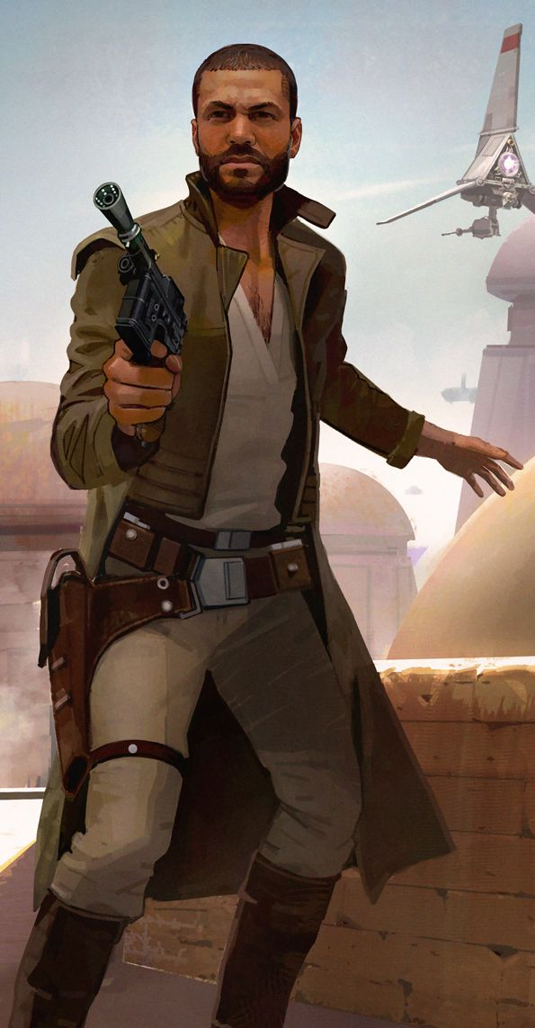 "Star Wars Uprising (**I could see this character as my Captain Deacon 90 from my Star Wars FanFic ""Smuggler's Entanglement"">> https://www.smashwords.com/books/view/631476"