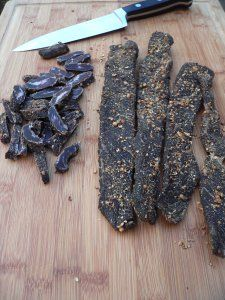 "-- Wonderfully tasty, healthy South African snack. Biltong is africa's version of jerky. --How to make biltong, biltong recipes, making a ""biltong box""."