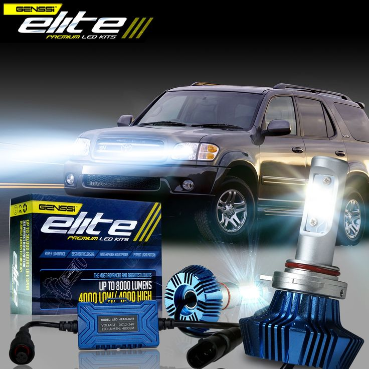 Super bright led conversion kit that fits the 2001-2007 Toyota SEQUOIA