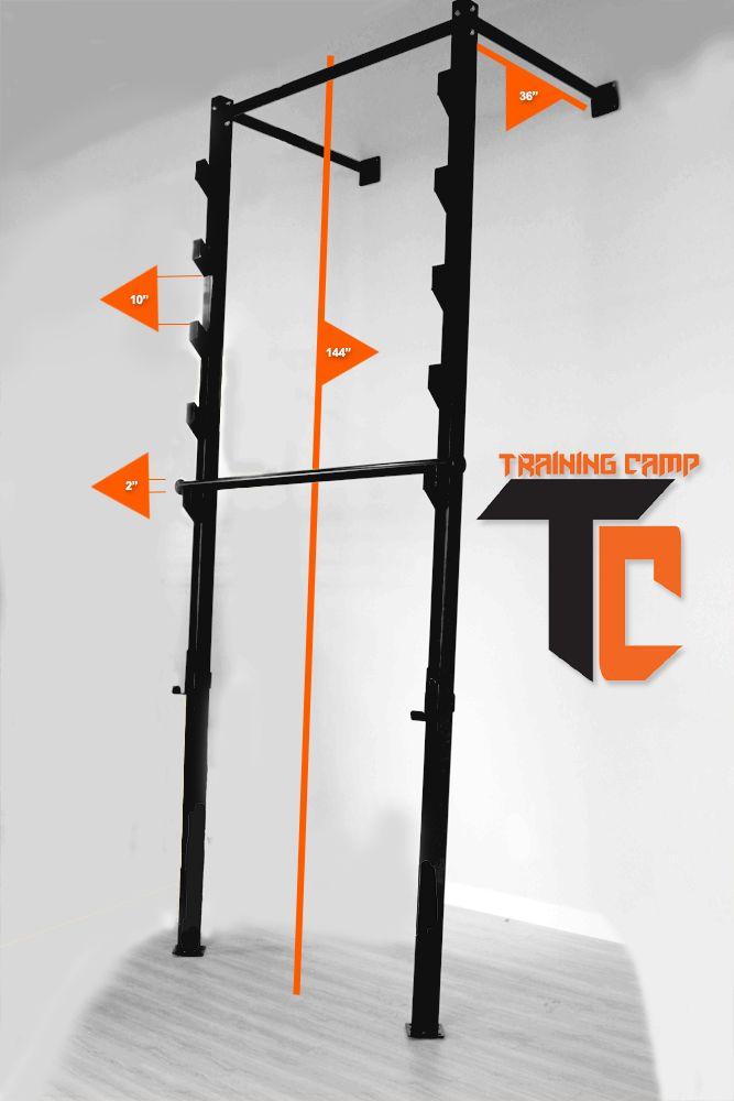 Shotgun salmon ladder diy home gym pinterest