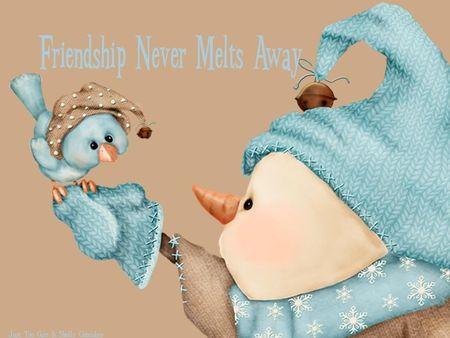 FRIENDSHIP SNOWMAN