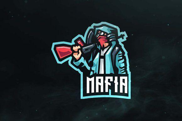 Mafia Sport And Esports Logo Esports Logo Sports Logo Design Photo Logo Design