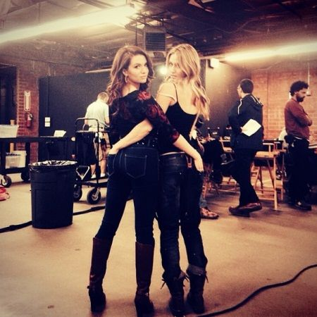 Rita Volk And Katie Stevens Ain't 'Faking' Their Real-Life BFF Status [Photos]