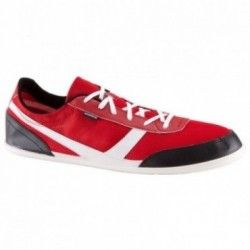 Many Mesh Active Walking Shoes - Red/White/Grey