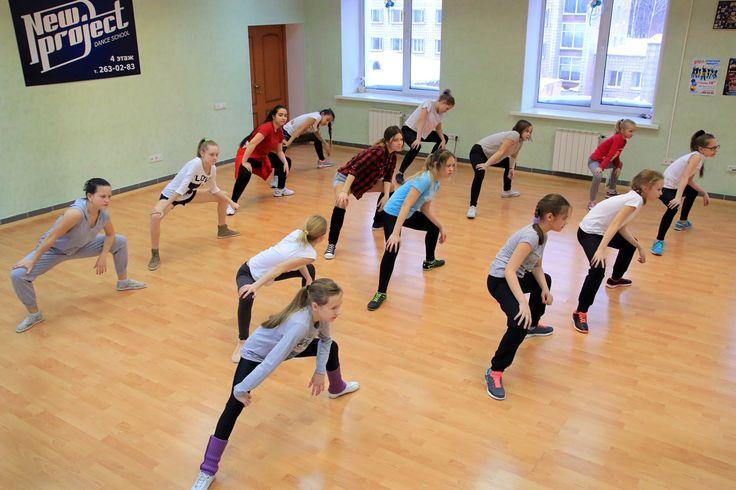 Клубные танцы школы танцев New Project http://project-nsk.ru