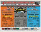 Carolina Metal Barns - Carolina Carports - Enterprise Center 979-542-4330