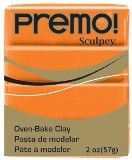 Premo Sculpey Orange, 2 oz bar. PE02 5033