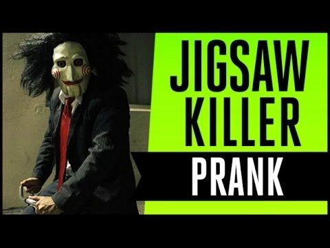 JIGSAW & Ultimate Elevator Prank (IbraTV) - YouTube
