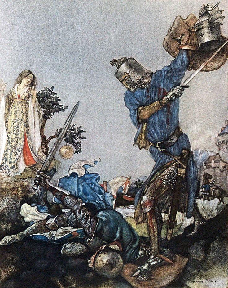 Le morte d arthur heroes journey