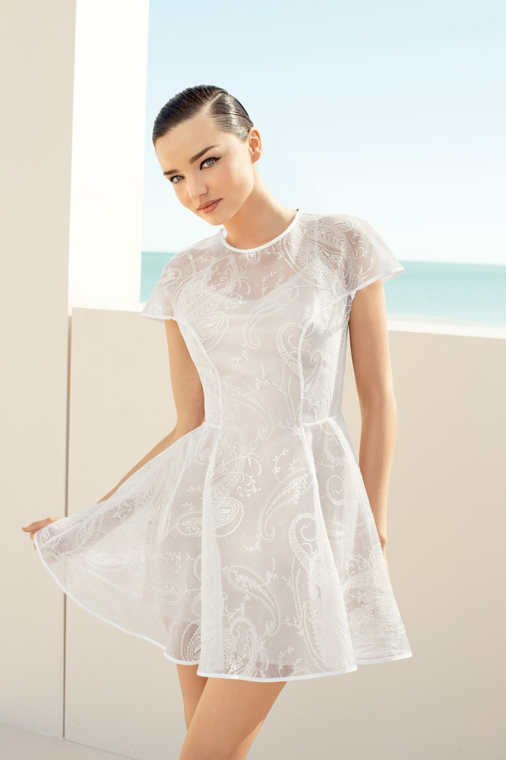 White dress david jones - Miranda Kerr Stars In The David Jones Spring Summer 2017 Campaign